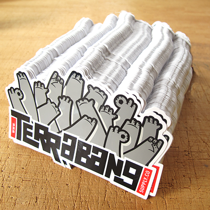 Terrabang supply co stickers