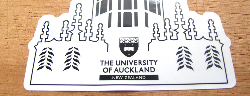 Auckland University Stickers
