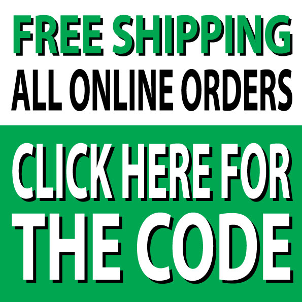 Free Shipping for online purchases