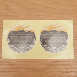 circle stickers, free stickers, tattoo tonic