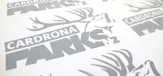 Cardrona Parks Stickers Custom Sticker Printers