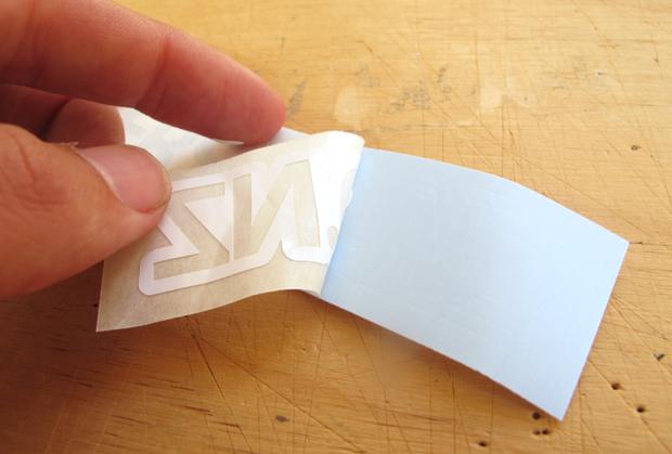 How To Apply A Vinyl Die Cut Sticker Decal Custom